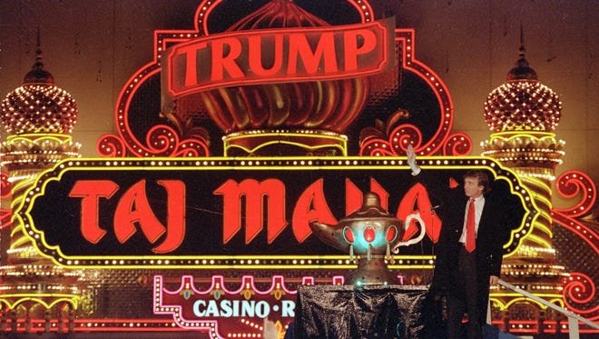 Trump's Atlantic City casino had similar troubles in the 1990s, when the Treasury Department fined the company for not reporting gamblers who cashed out more than $10,000 in a single day.