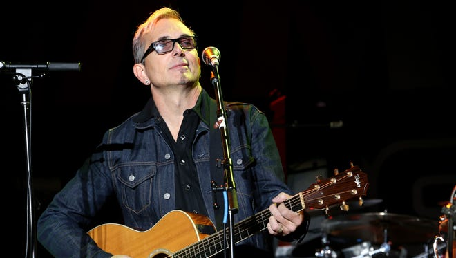 Musician Art Alexakis attends the 2014 National Association of Music Merchants show at the Anaheim Convention Center on January 24, 2014 in Anaheim, California.