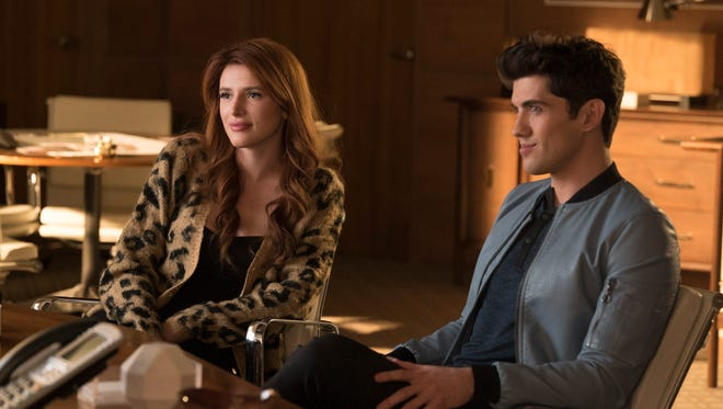 Bella Thorne, left, and Carter Jenkins star in Freeform's 'Famous in Love.'