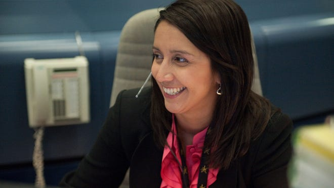 NASA Flight Director Ginger Kerrick was born and raised in El Paso and is a graduate of Hanks High School.