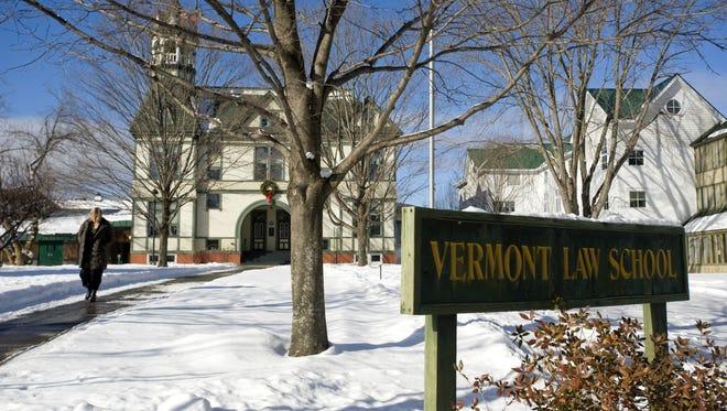 Vermont Law School in So. Royalton on Monday Jan. 10, 2011.