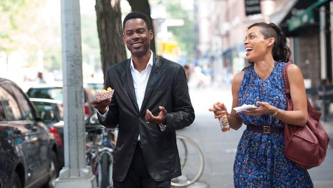 Chris Rock and Rosario Dawson in 'Top Five'