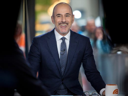 NBC fired Matt Lauer, longtime anchor of the Today
