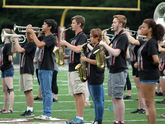 "The Owen High School marching band will perform their show ""Made in America"" at Warhorse Stadium on Nov. 3."