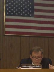 Councilman Eugeniusz Rachelski