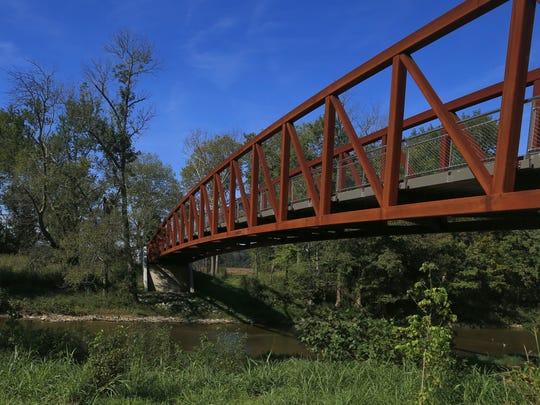 Palisades Bridge at the Parklands of Floyds Fork.