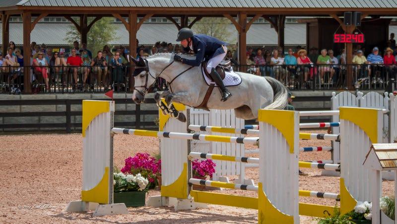 Tryon equestrian center already riding high