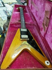 Joe Bonamassa purchased this 1958 Flying V earlier this year from Norman's Rare Guitars.