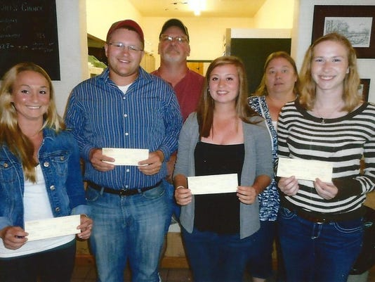 Fish and Game 2015 Scholarship winners0001