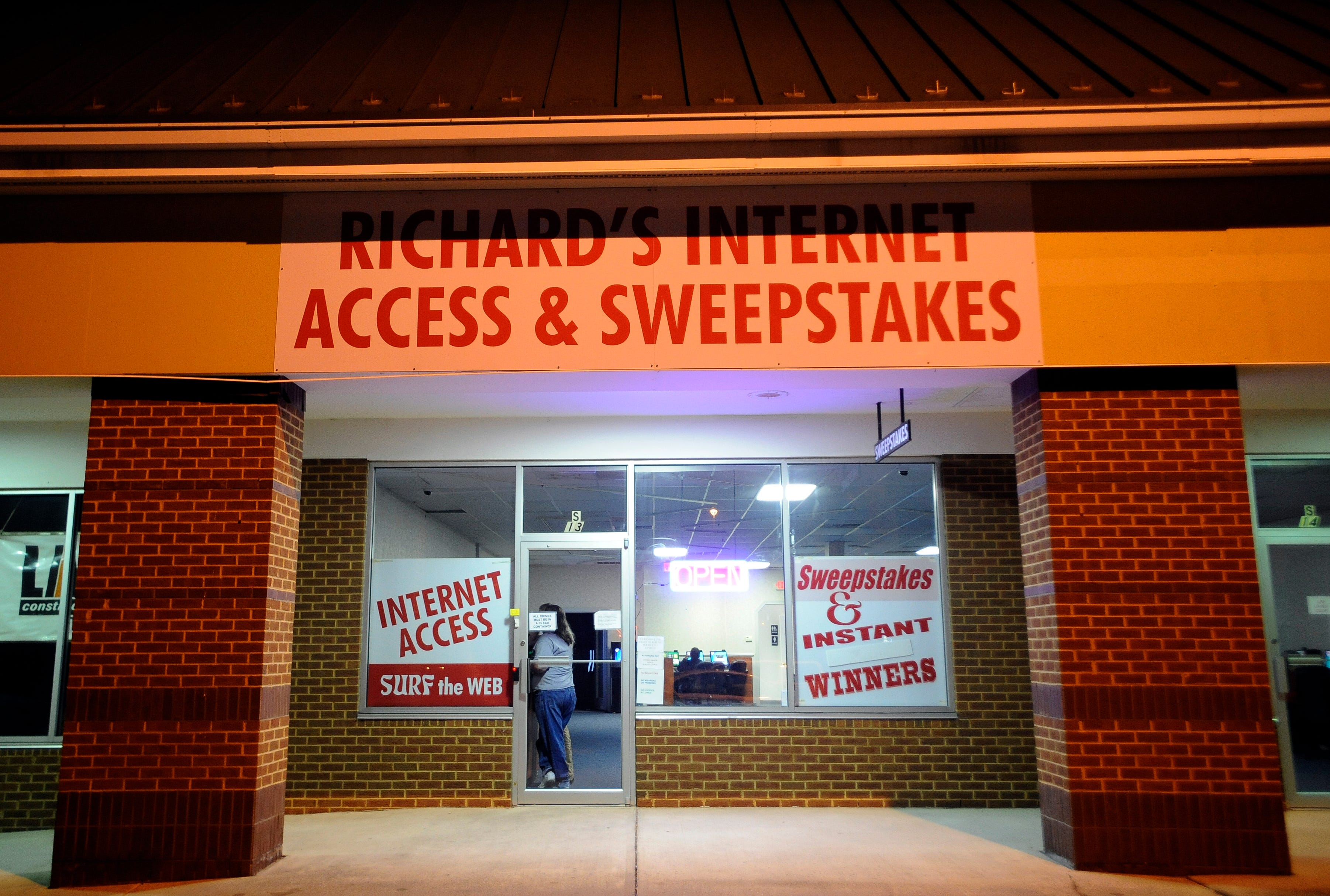 Start at home internet sweepstakes business