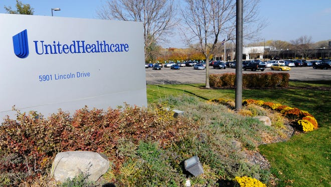 In this Oct. 16, 2012, photo, part of the UnitedHealth Group, Inc. campus is shown, in Minnetonka, Minn.