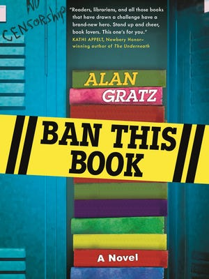 """""""Ban This Book"""" is the latest middle-grade novel by former Knoxvillian Alan Gratz."""