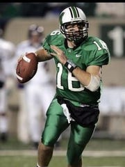 While at Marshall, Chillicothe High School graduate Jimmy Skinner threw for over 2,000 yards. He's now an offensive coordinator at Madison Southern High School in Berea, Kentucky.