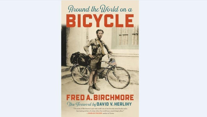 "Earlier this summer, UGA Press re-released ""Around the World on a Bicycle,"" a combination travelogue-and-memoir written in the mid-1930s by Athens icon Fred Birchmore. [Photo via UGA Press)"
