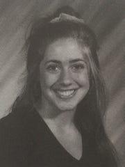 Holly Colino's high school photo.
