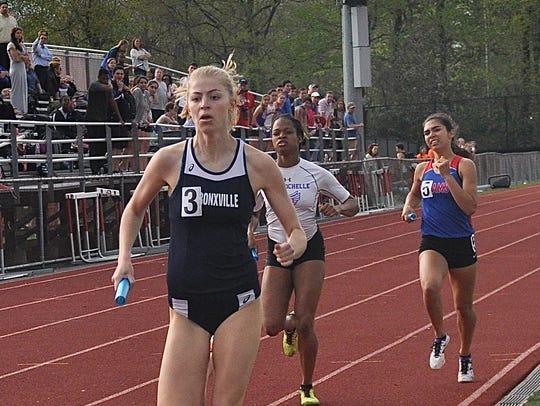 Bronxville's Caroline Brashear beats New Rochelle's