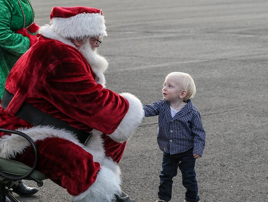 Santa once again will be flying into Central Jersey