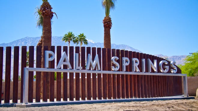 Palm Springs is featured prominently in a new BMW ad.