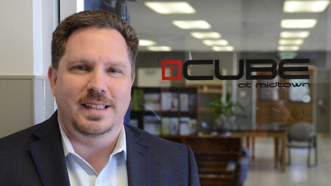 Eric Madison is the executive director of the CUBE at Midtown.