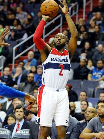 John Wall had 18 points, 13 rebounds and 10 assists