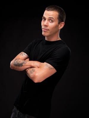 """Steve-O is known for his dangerous and controversial stunts on """"Jackass"""" and other programs."""