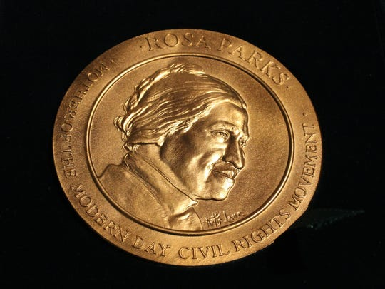 The Congressional Gold Medal of Honor awarded to Rosa