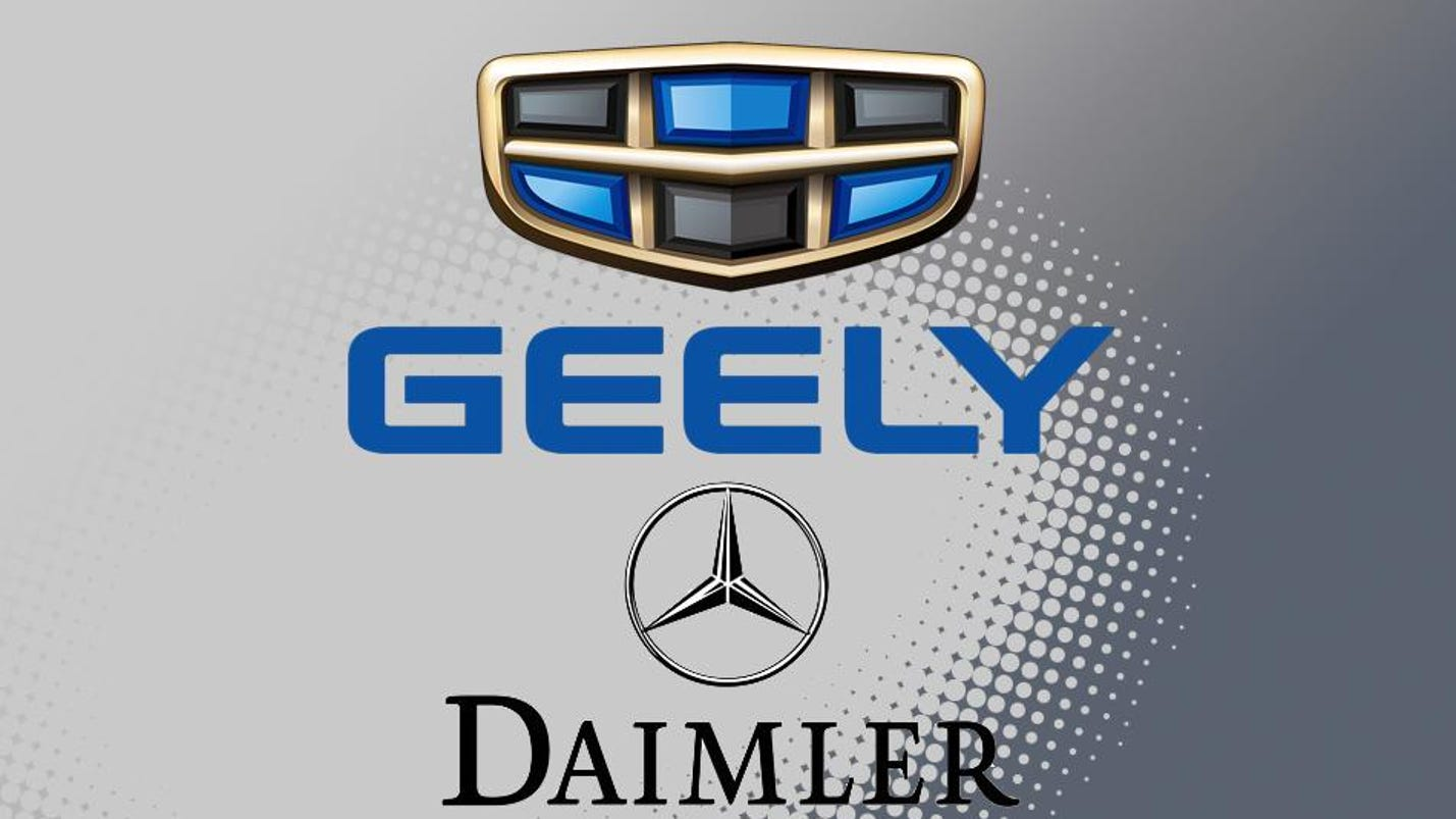 Chairman of China's Geely acquires 10% of Daimler