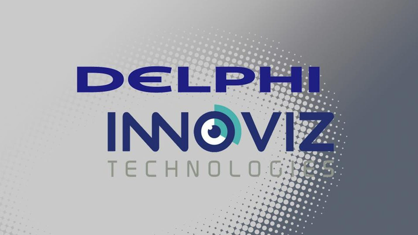 Delphi partners with Innoviz for self-driving technology