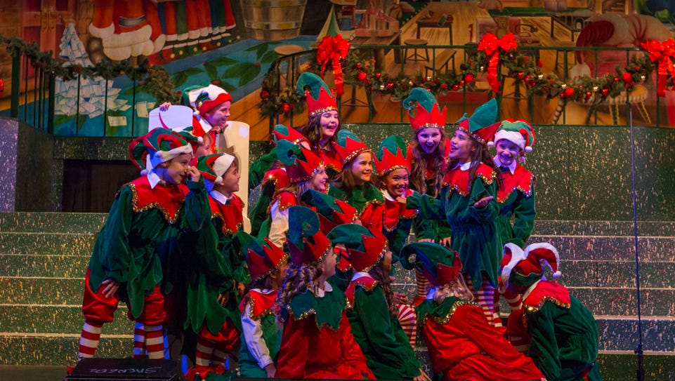 Members of the Pensacola Children's Chorus perform