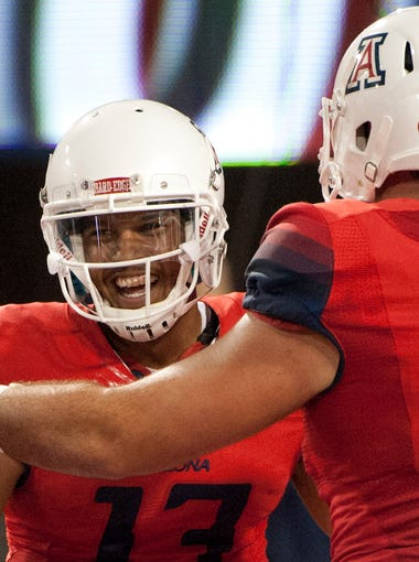 Finally, after University of Texas at San Antonio, Nevada and Northern Arizona University, the No. 16 Arizona Wildcats play a team that matters and in a game that's vitally important. Both teams are 3-0 and the winner of Saturday's game against No. 9 UCLA will have an early leg up in the Pac-12 South Division.