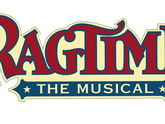 The logo for Ragtime the musical.
