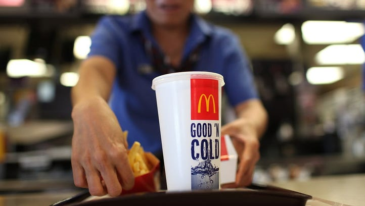 McDonald's has announced that human antibiotics and