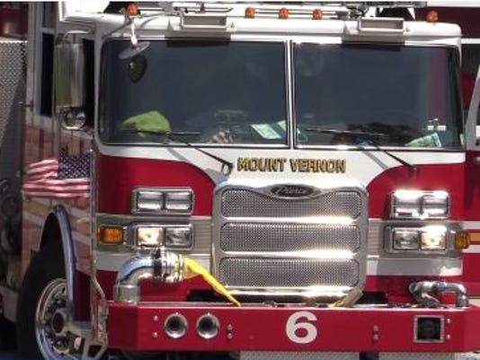 Mount Vernon fire engine