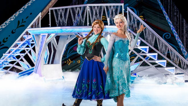"""Disney on Ice Presents: Frozen"" is headed to the FedExForum, with multiple shows Friday through Sunday."
