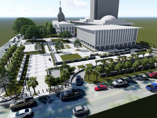 A proposed rendering of the Florida House and Veteran's