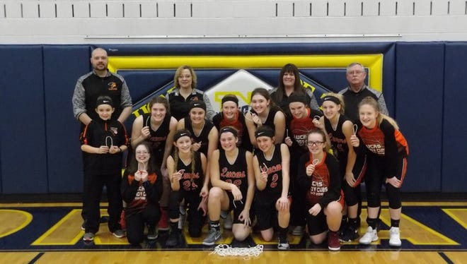 The Lucas Lady Cubs claimed their first sectional championship since 1989 with a win over St. Paul on Saturday.