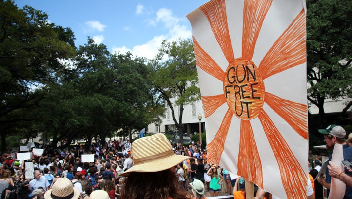 Dan Thomasson: Protests highlights absurdity of campus carry policy