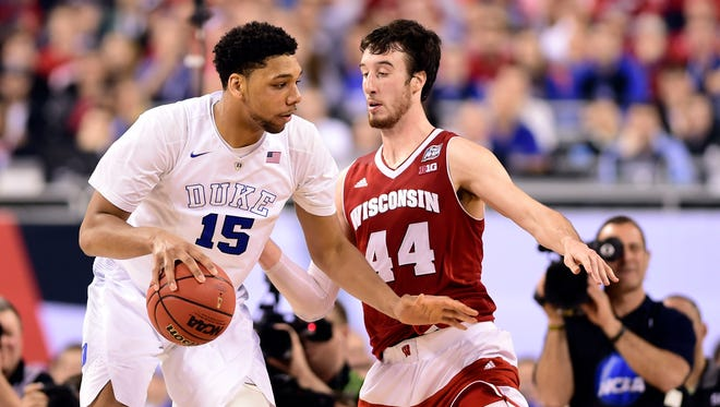Both Jahlil Okafor and Frank Kaminsky shouldn't have to wait too long to hear their names called in the NBA draft.