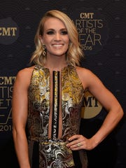 Honoree Carrie Underwood on the CMT Artist of the Year