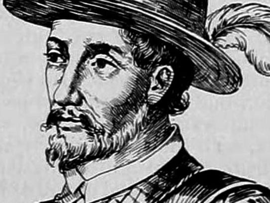 In 1521, Ponce de León intended to colonize,  Christianize