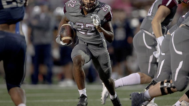 Round Rock running back Israel Morgan returns for the Dragons after rushing for more than 1,300 yards during an all-district season in 2019.