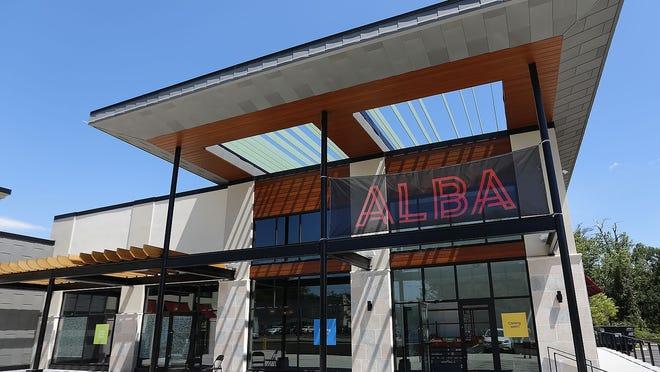 The new Alba restaurant at Merchant's Row on Washington Street in Hanover. Greg Derr/The Patriot Ledger