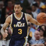 Utah Jazz guard Trey Burke.