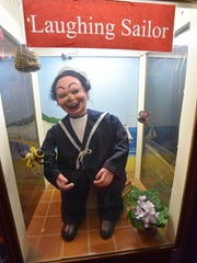 """Some machines are found disturbing by visitors, like the """"Laughing Sailor."""""""