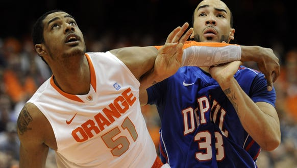 Fab Melo played two seasons for Syracuse and was named