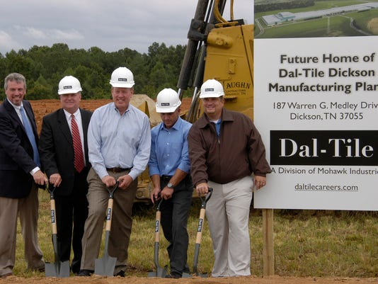 DalTile Breaks Ground Introduces Plant Manager - Daltile nashville tn