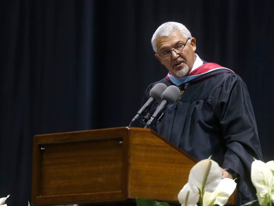 Hillcrest High School principal Garry Moore