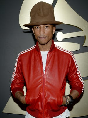 Pharrell Williams' dome dominated the Grammys.