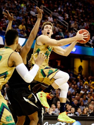 Pat Connaughton, who played at Notre Dame and with the Portland Trail Blazers, could help the Bucks' outside shooting.