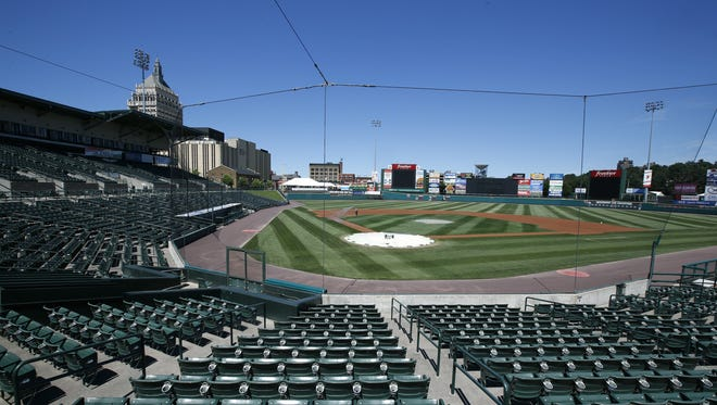 Monroe County will receive $550,000 in state grant money to help fund a host of renovations at Frontier Field.